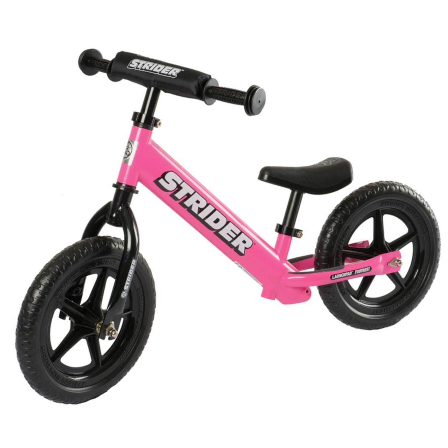 Strider - 12 Sport Balance Bike, Ages 18 Months to 5 Years, Black Yana Shiki USA ST-S4BK