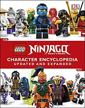 LEGO® Ninjago Character Encyclopedia Updated and Expanded: Includes Exclusive Jay Minifigure (English Edition)