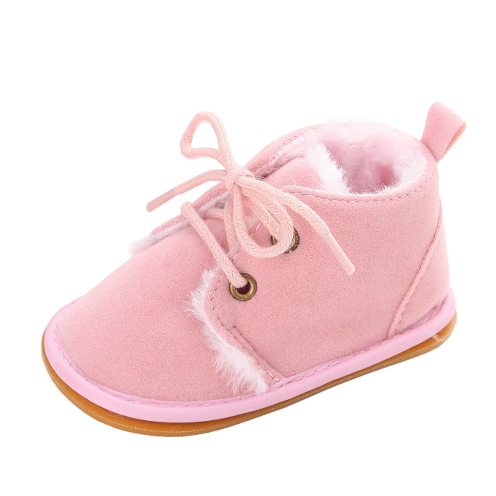 Amazon.com : Annnowl Baby Boots Winter Training Warm Shoes