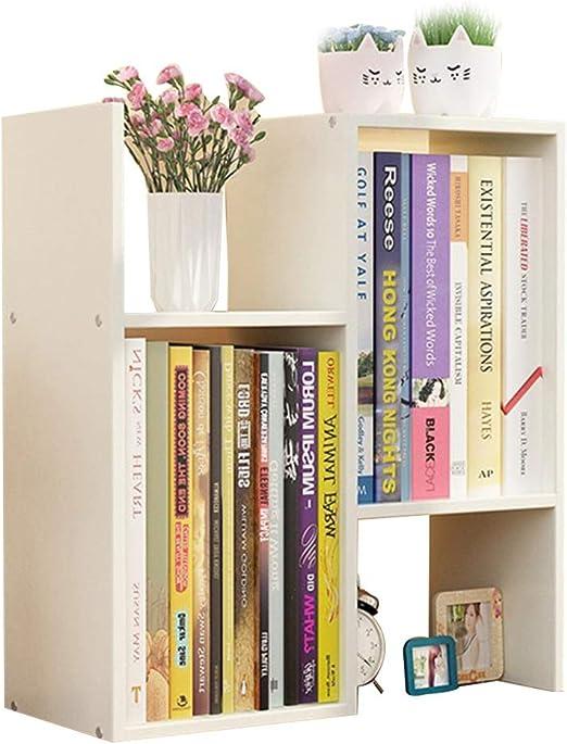 Librerías Estante para Libros Estantería pequeña Estante de Mesa ...