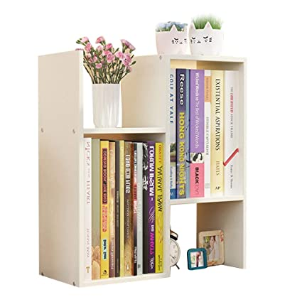 Small Bookshelf Simple Table Rack Student Dorm Storage Desktop Color