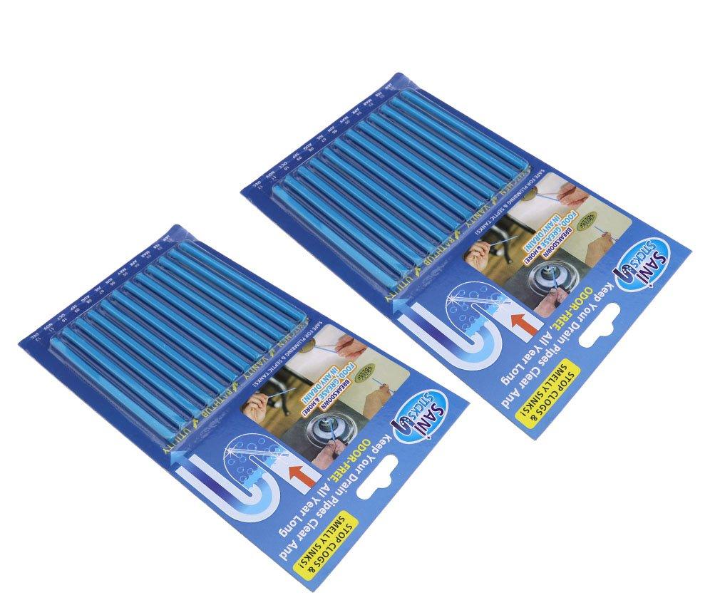 Amazon.com: 12 x10cm Sticks Drain Cleaner Clog & Odor Remover ...