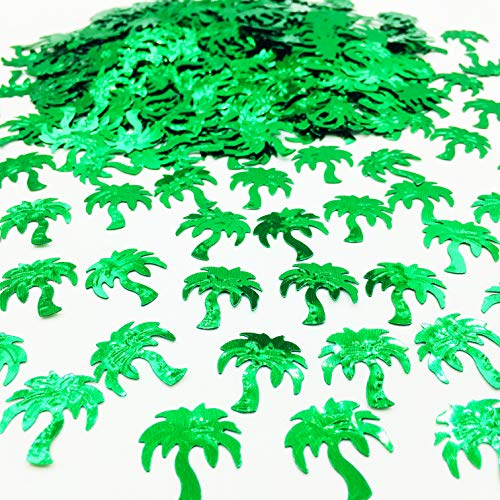 Palm Tree Confetti Summer Party Decorations Tropical Breeze Confetti 1.5 - Tree Confetti Palm