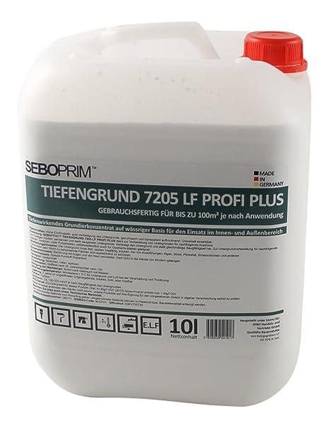10l Seboprim Qualitäts Tiefengrund 7205 Lf Gebrauchsfertig