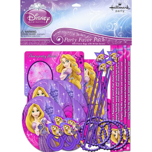 Disney Tangled Sparkle Party Favor Pack for 8 by Hallmark