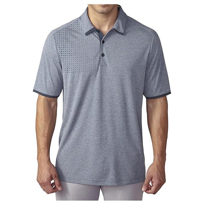 1e4b24ad32f07 adidas Golf Men's Climachill Dot Fade Heather Polo Shirt