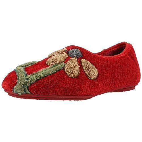 mejor sitio web 675d0 7623c Zapatillas de Estar por casa de Mujer, Color Rojo, Marca ...