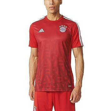 adidas fc bayern münchen herren pre-match shirt