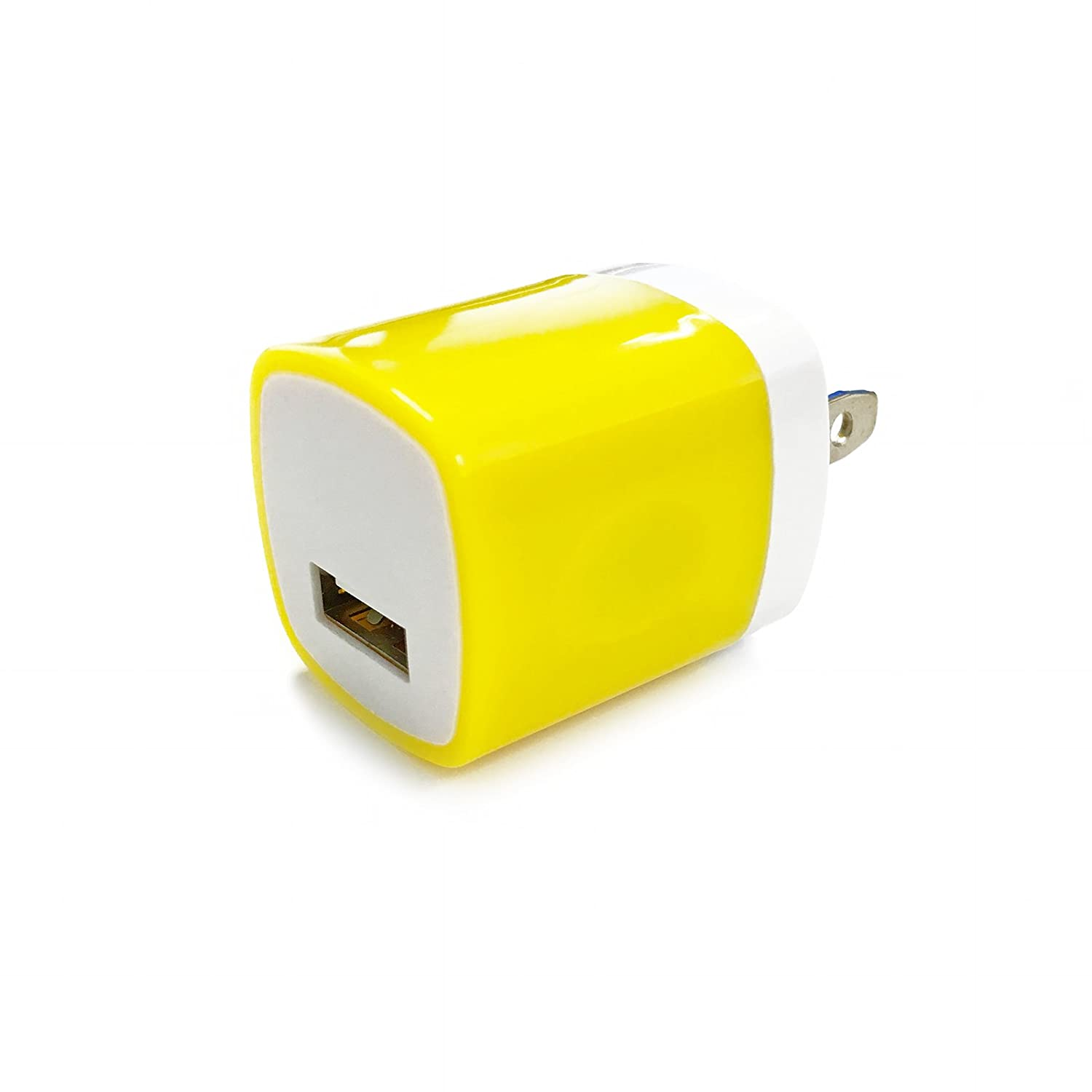 Amazon.com: USB Wall Charger, Charger Adapter, FREEDOMTECH 5-Pack ...