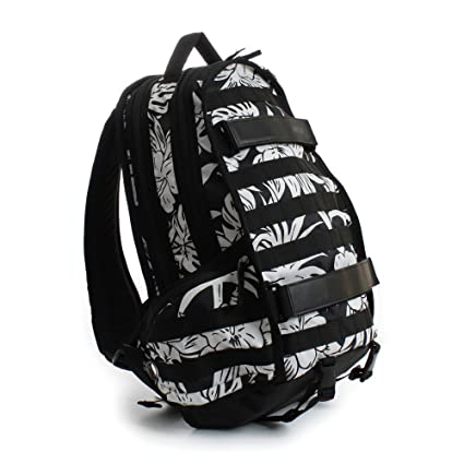bfb11b341818 Amazon.com  Nike SB RPB Graphic Tropic Skateboarding Backpack Black ...