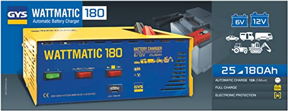 Chargeur batterie WattMatic 180 612 volts 25 à 180ah pour