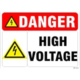 SignageShop High Voltage Sign
