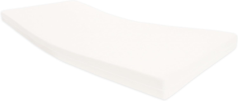 Dibapur Pro Vital XL - Colchón de espuma fría (ortopédico, enrollable, altura del núcleo de 18,5 cm, con funda estándar de 18,7 cm), 80 x 170