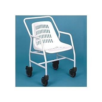 Ayudas dinamicas - Silla con ruedas para baño