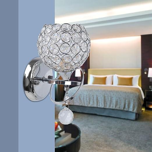 Reelva modern crystal wall lights bedroom wall lamp sconce for home reelva modern crystal wall lights bedroom wall lamp sconce for home decor sitting room bedroom aloadofball Images