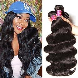 Nadula Hair 8a Best Quality Brazilian Body Wave Virgin Hair Extensions 4 Bundles 18 20 22 24 Brazilian Wavy Unprocessed Human Hair Weave Natural Color