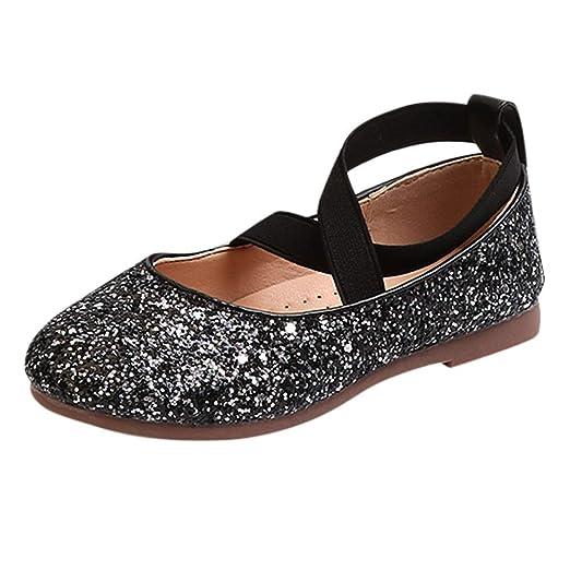 ❤ Zapatos de Baile Lentejuelas para niñas, Bebé Infantil Niñas pequeñas Lentejuelas Bling Princesa Zapatos Absolute: Amazon.es: Ropa y accesorios