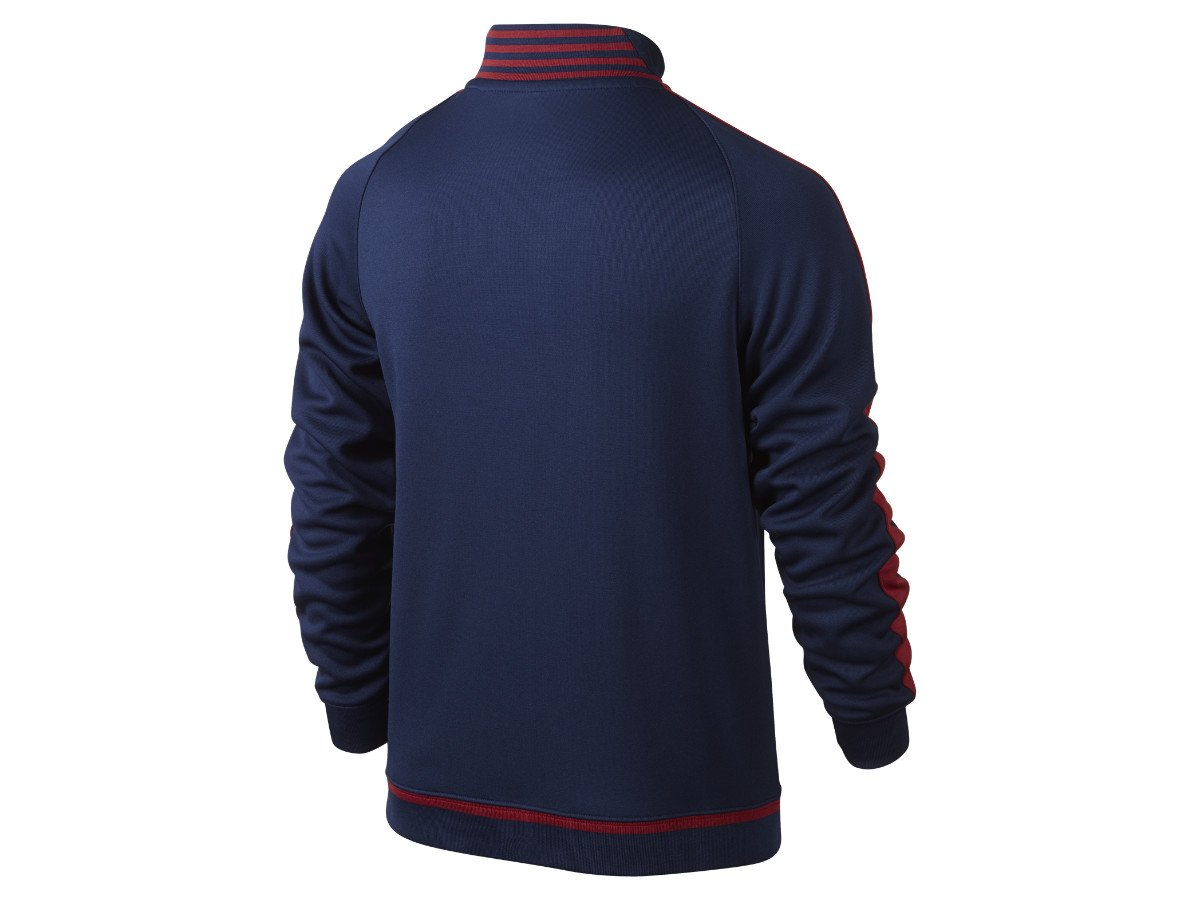 2015-2016 Barcelona Nike Authentic N98 Jacket (Navy) - Kids ...