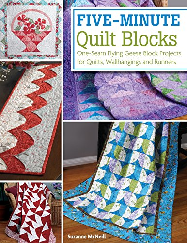 Blocks Hanging (Five-Minute Quilt Blocks: One-Seam Flying Geese Block Projects for Quilts, Wallhangings and Runners)