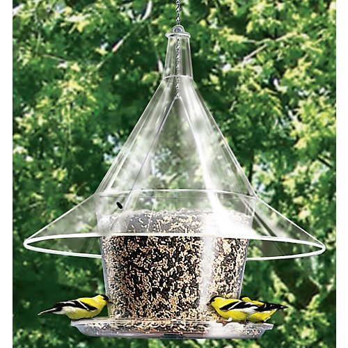 Arundale Products AR360 011008 Mandarin Sky Cafe Bird Feeder, Clear Arundale Sky Cafe Feeder