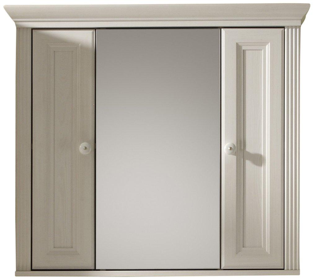 Bega 54-870-B3 baño-Armario 3-Puertas, Aproximadamente 85 x 76 x 23 cm, Sibiu-alerce: Amazon.es: Hogar