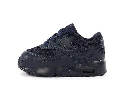 new product eac61 1b62f Nike Air Max 90 Mesh (TD), Baskets Basses Mixte bébé, Azul Obsidian, 21 EU   Amazon.fr  Chaussures et Sacs