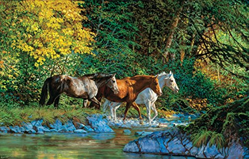 Bear Creek Crossing 1000 pc Jigsaw Puzzle