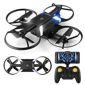 Ferngesteuertes HELIFAR H818 Drohne Faltbar mit Kamera HD 720P WiFi FPV S Eine Batterie