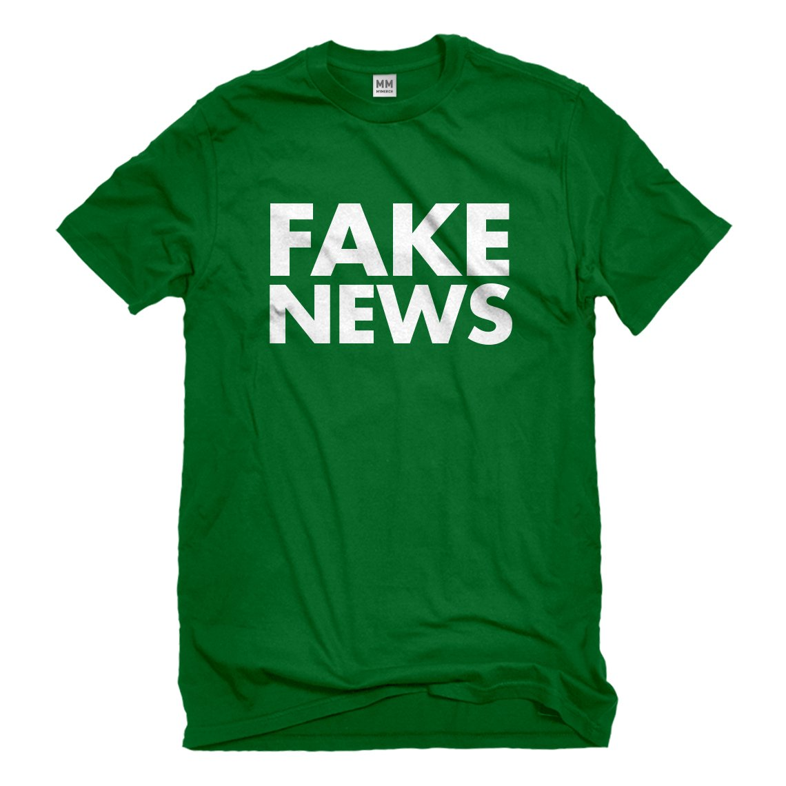 Indica Plateau FAKE NEWS Mens T-Shirt 3186-M