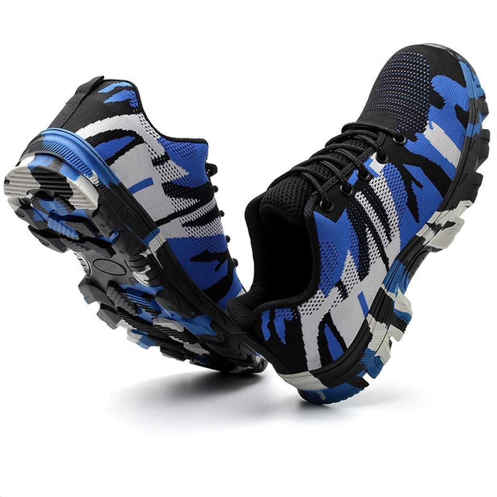 Kaister Herren Leichte atmungsaktive Luftkissen Sicherheitsschuhe f/ür Camouflage Sicherheitsschuhe Laufschuhe Sportschuhe Turnschuhe Trainers Running Fitness Atmungsaktiv Sneakers