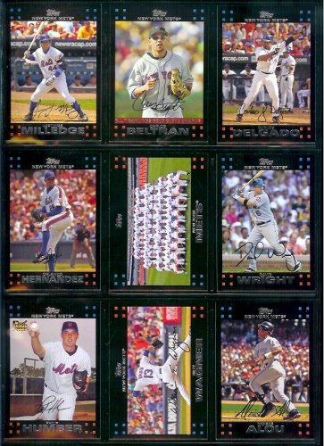 Amazon Com 2007 Toppsyork Mets Team Set Of 14 Baseball