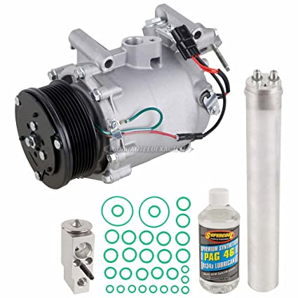 AC Compressor w/A/C Repair Kit For Honda Civic 2007 2008 2009 2010