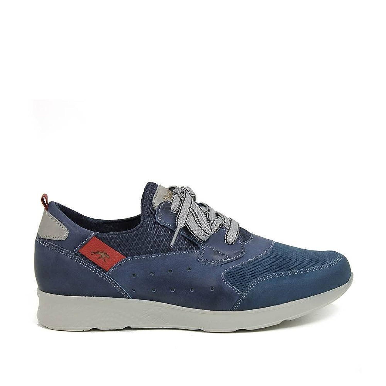 Sneaker - Cordones - Piel - Marino - Extralight 41 EU