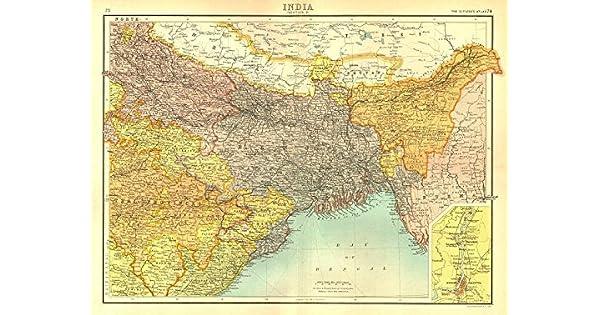 Amazon.com: British la India North East. Bengala Assam ...