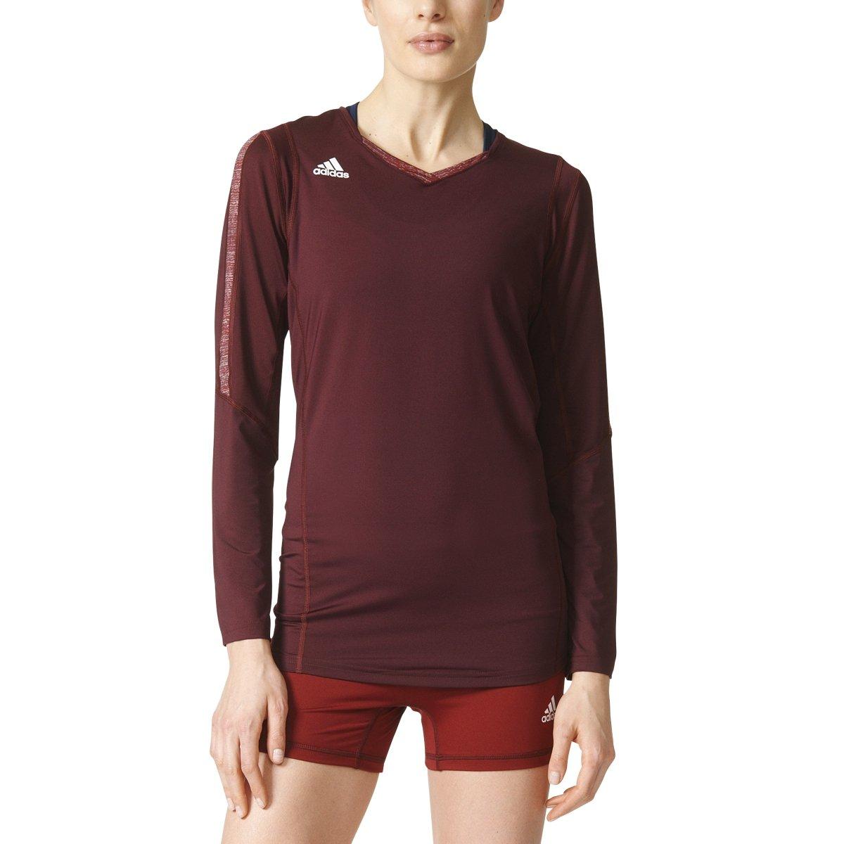 03085f9f Amazon.com : adidas Women's Volleyball Quickset Long Sleeve Jersey :  Clothing