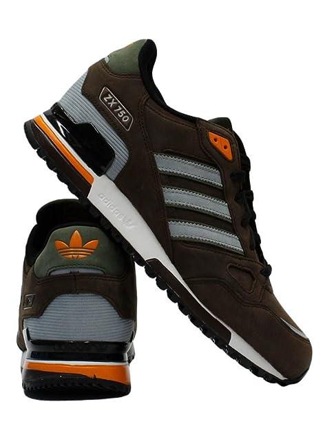 scarpe adidas zx 750 marroni