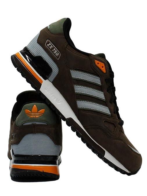 adidas zx 750 pelle marrone