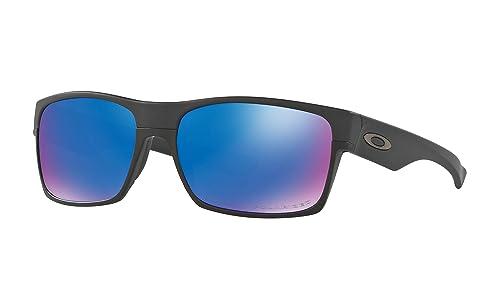 Amazon.com: Gafas de sol Oakley Twoface negro mate con lente ...