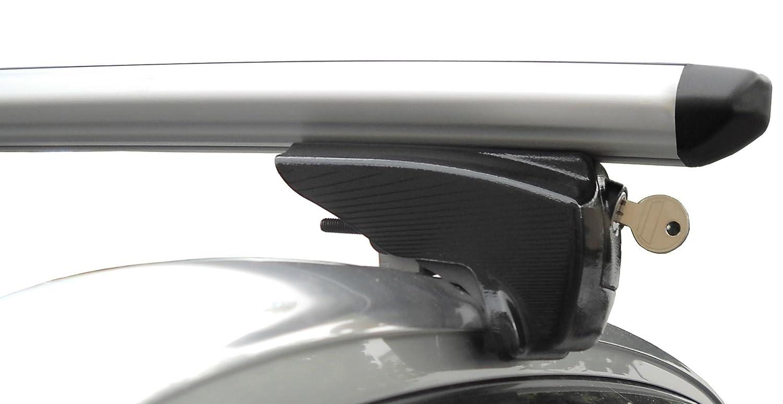 Alu Dachträger Relingträger PickUp Ford B-Max ab 2012 90kg aufliegende Reling