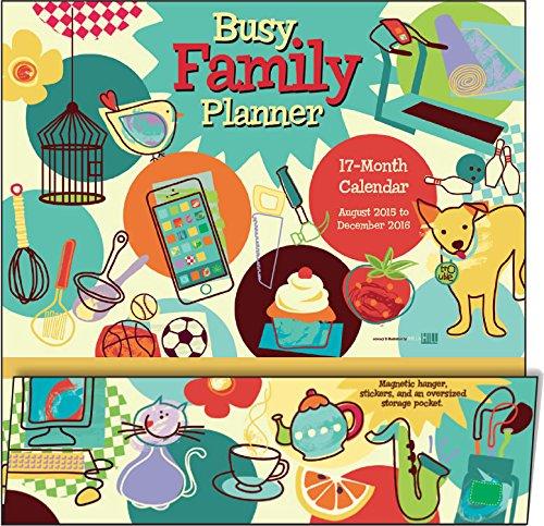 Busy Family Planner 2016 Wall Planner (Calendar)