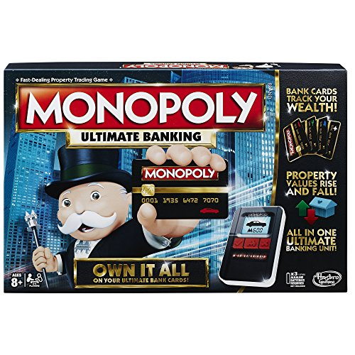 Hasbro Monopoly Game: Ultimate Banking - Game Monopoly Edition
