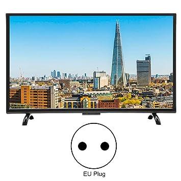 Televisor de pantalla curva LCD HD 4K HDR de 55 pulgadas ...