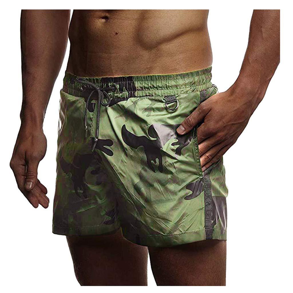 Subfamily Pantalon Corto Deporte Hombre Deporte Jogging Pantalones Chinos Moda Elasticos Camuflaje Deportivo Correas de sujeci/ón Pantalones Camuflaje de Playa