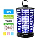 Lixada 3-Watt Electric Bug Zapper with Hook
