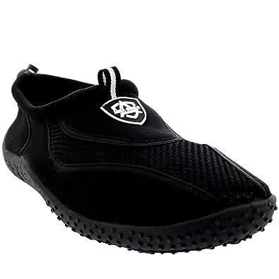 84dade3932a Womens Beach Pool Sea Swimming Toggle Slip On Aqua Water Socks Surf Shoes -  3 -