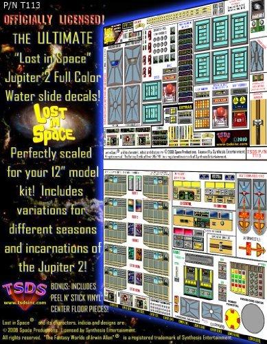 TSDS - T113 - THE ULTIMATE JUPITER-2 FULL COLOR WATER SLIDE DECAL ()
