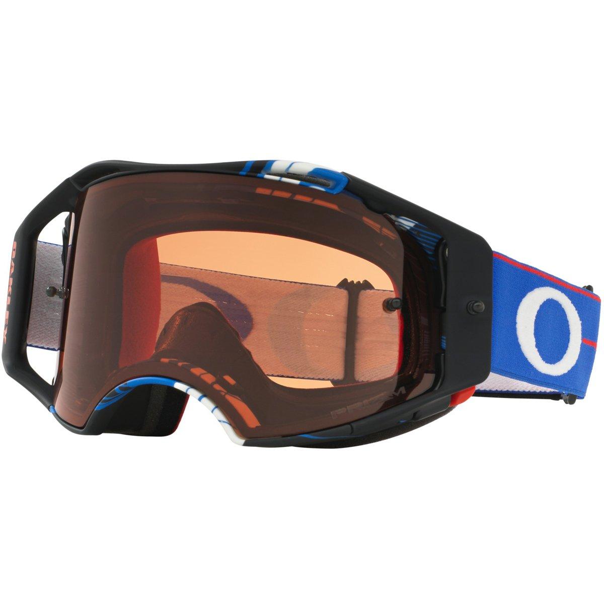 Oakley Airbrake MX Ryan Dungey Adult Off-Road Motorcycle Goggles Eyewear - Block Pass RWB/Prizm MX Bronze/One Size Fits All