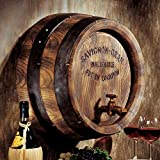 Design Toscano French Wine Barrel Wall Sculpture