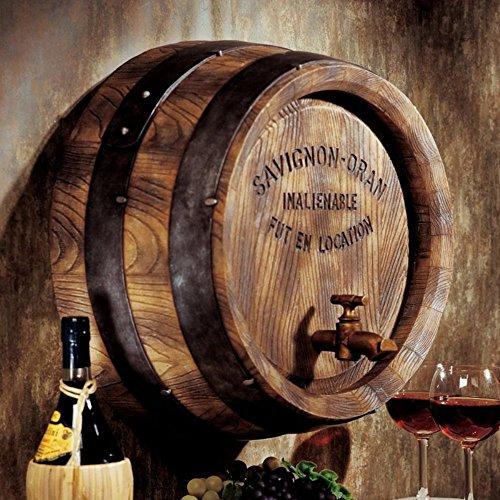 Design Toscano French Wine Barrel Wall (Barrel Wine)