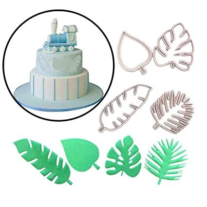 Tropical Leaf Shaped Cookie Cutter
